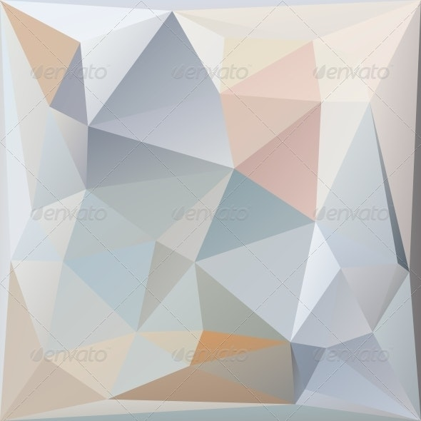Abstract Triangles Background By LizaLutik