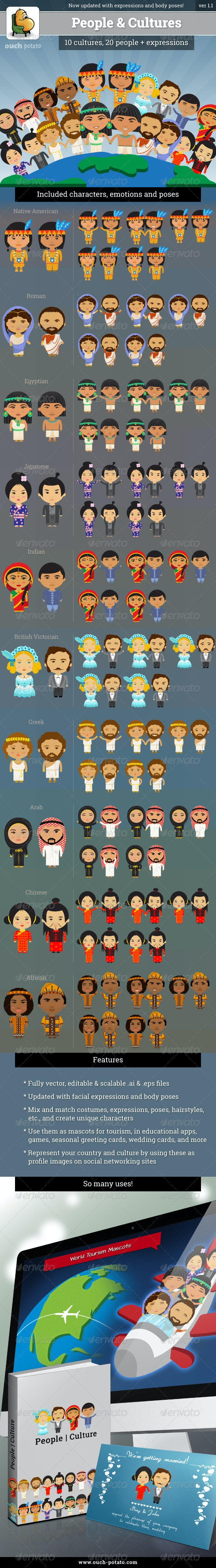 People and Cultures Version 1.1 - People Characters