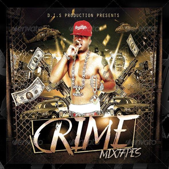 Rap Crime Mixtape Template