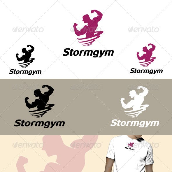 Storm gym Logo