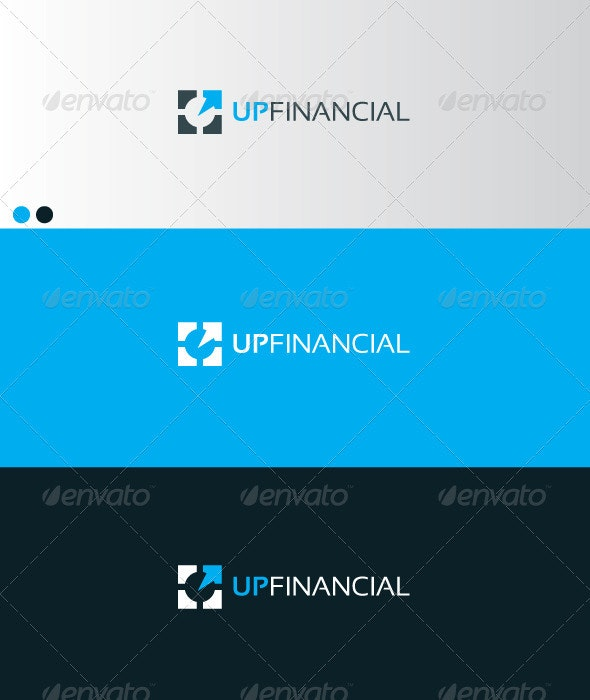 UP FINANCIAL - Symbols Logo Templates