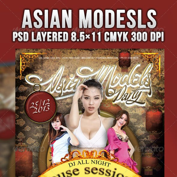 Asian Models Party