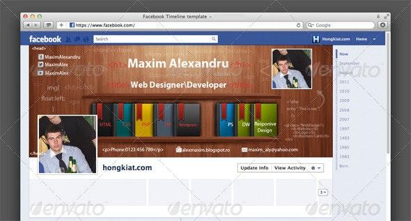 Web Developer & Web Designer Facebook Cover - Facebook Timeline Covers Social Media