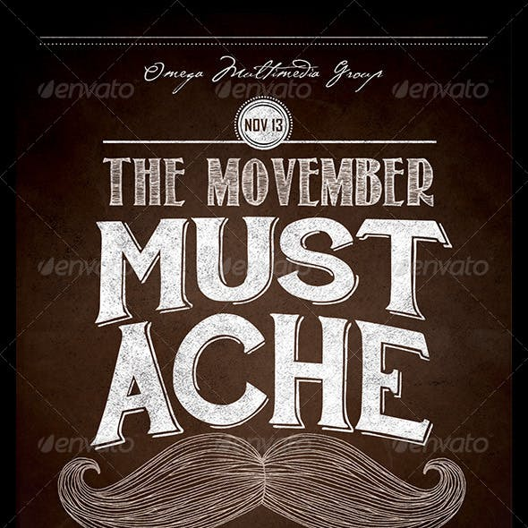 The Movember Mustache Party