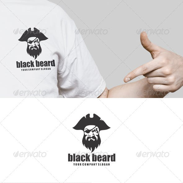 Black Beard Logo