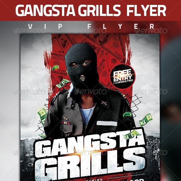 Gangsta Grills Flyer