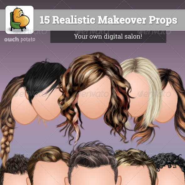 15 Realistic Makeover Props