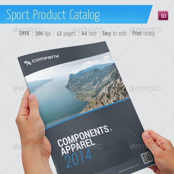 Product Catalog / Sport Brochure