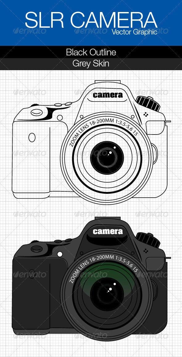 Vector Camera 2 Variations - Technology Conceptual