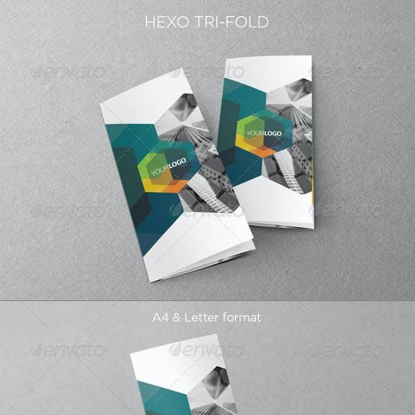 Modern Hexo Trifold