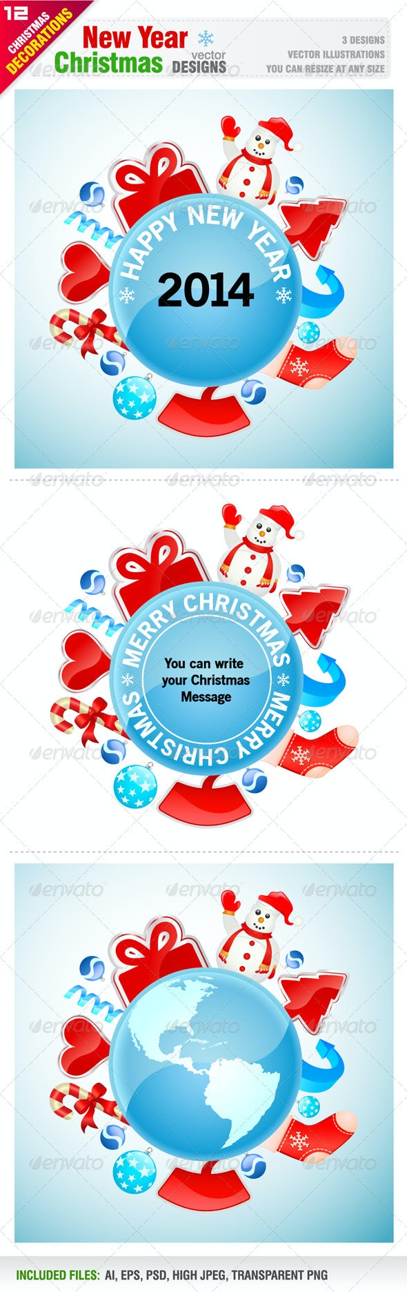 New Year Designs - New Year Seasons/Holidays