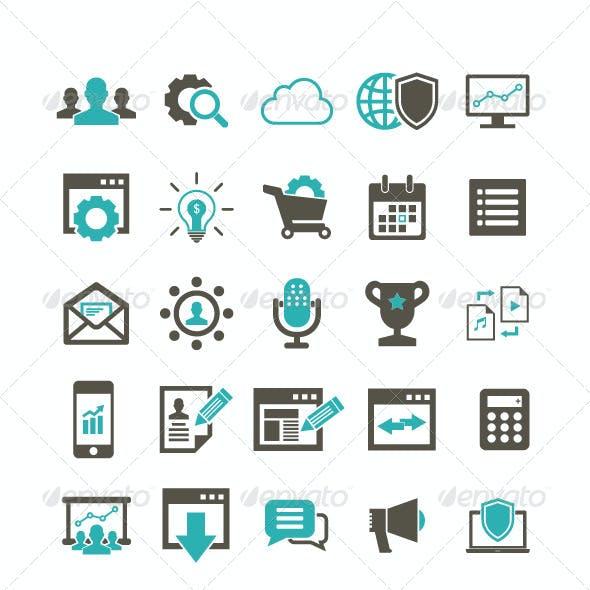 60 SEO Icon set