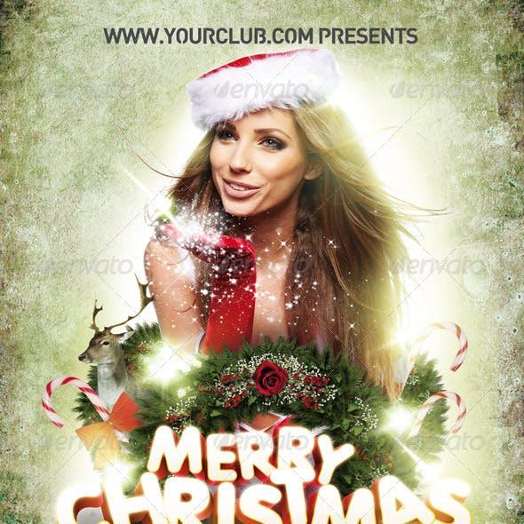 Flyer Template Christmas 2