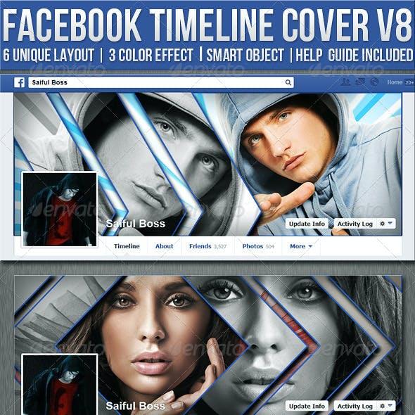 Facebook Timeline Cover V8