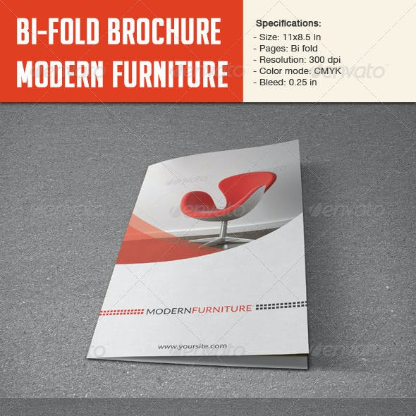 Bifold Brochure For Furniture