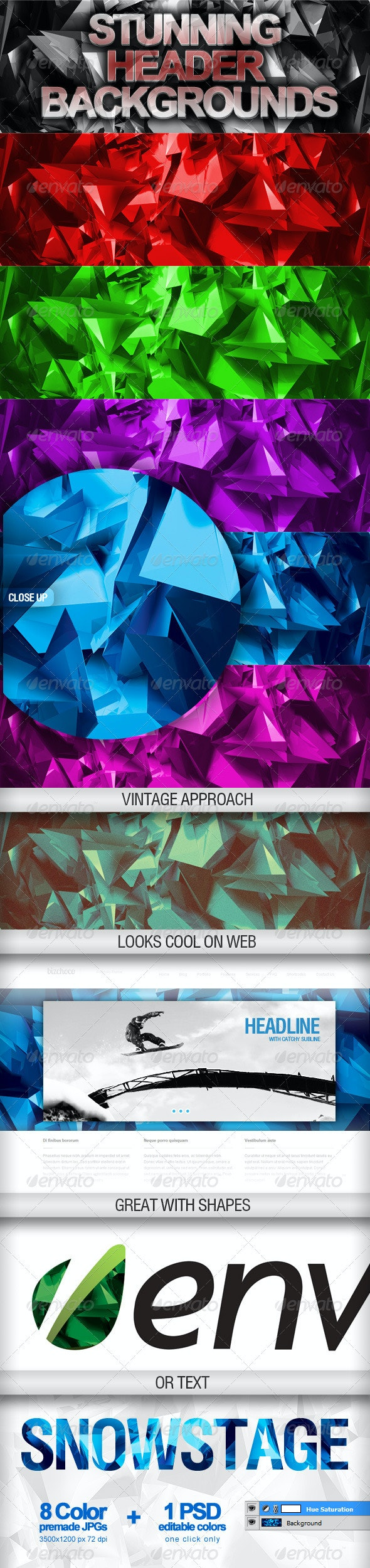 Web Header Backgrounds - Backgrounds Graphics