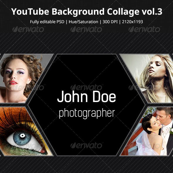YouTube Background Collage vol.3