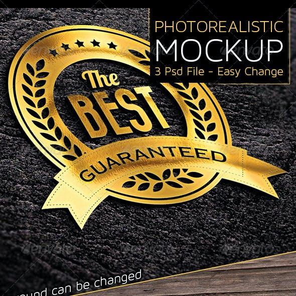 Photorealistic Mock-Ups