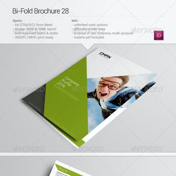Bi-Fold Brochure 28