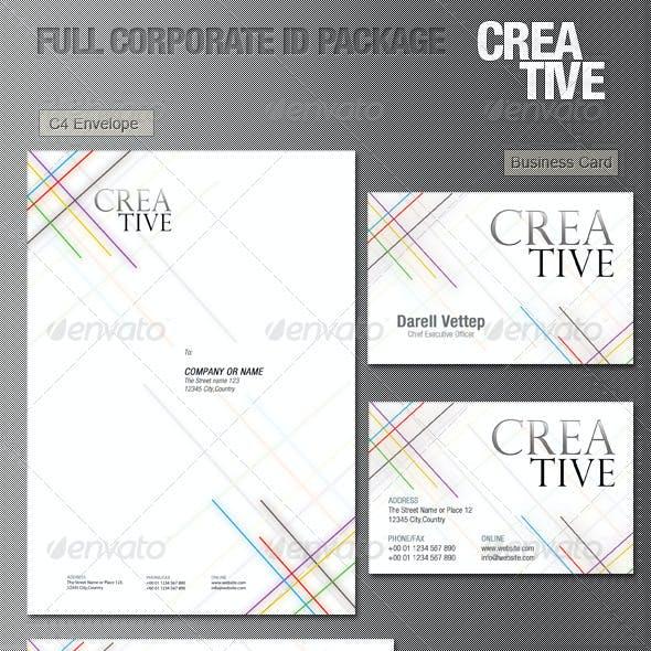 Full Corporate ID Package - CREATIVE