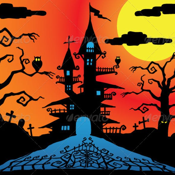 Halloween Hunted Mansion
