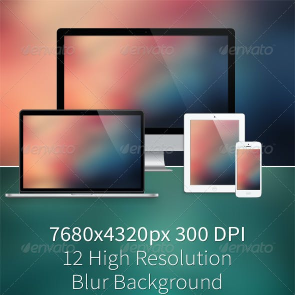12 High Resolution Blur Background