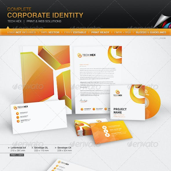 Corporate Identity - Hexa Tech