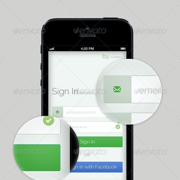 Mobile UX Flow - Forgot your password?