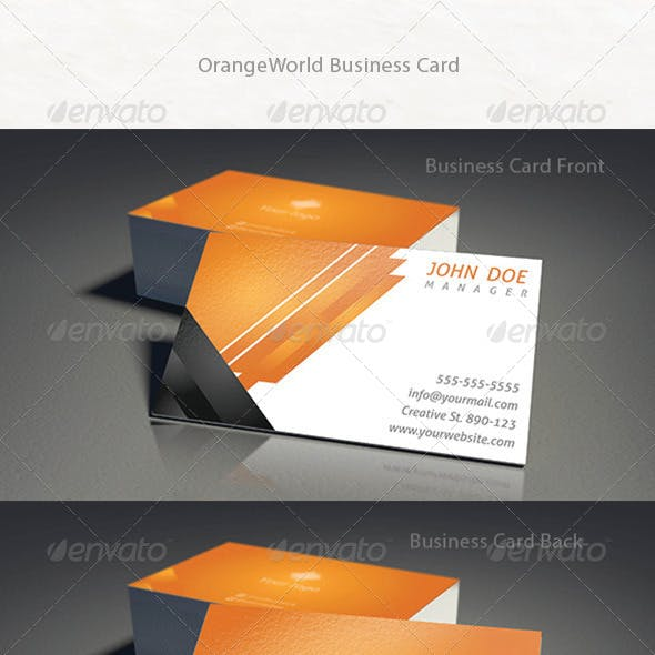 OrangeWorld Business Card