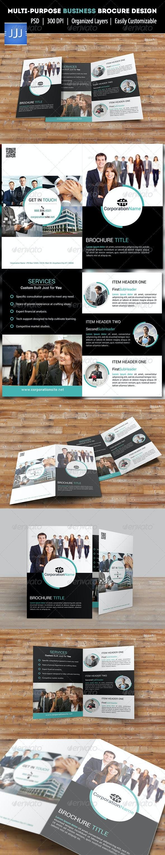 Multipurpose Bifold Brochure 5 - Corporate Brochures