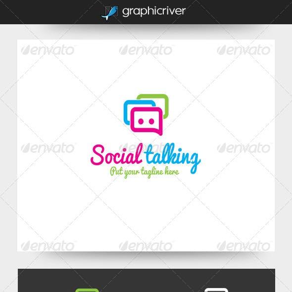 Social Talking Logo