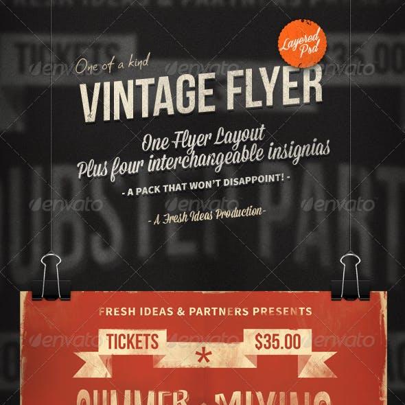 The Vintage Set: Flyers / Insignias vol.1