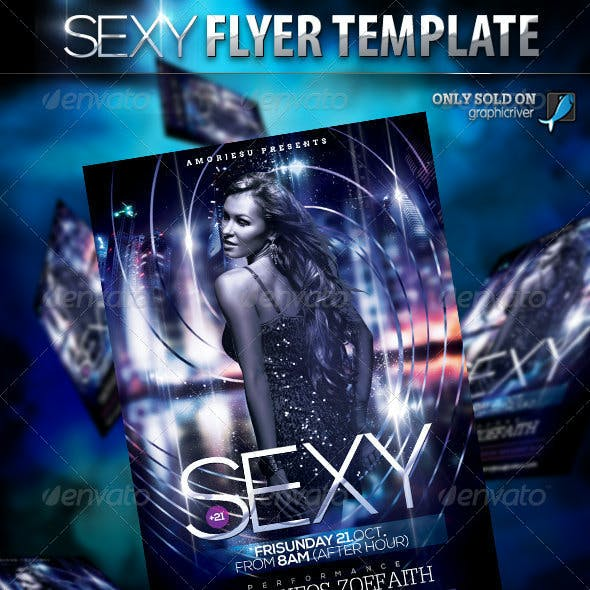 Sexy Flyer Template