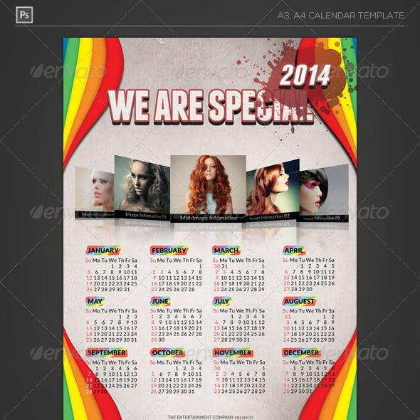 New Year Calendar 2014