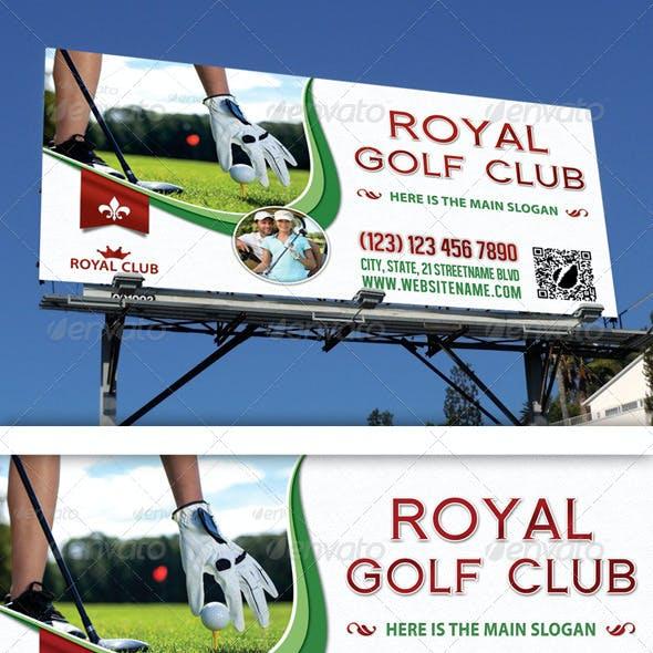 Golf Club Outdoor Banner 06