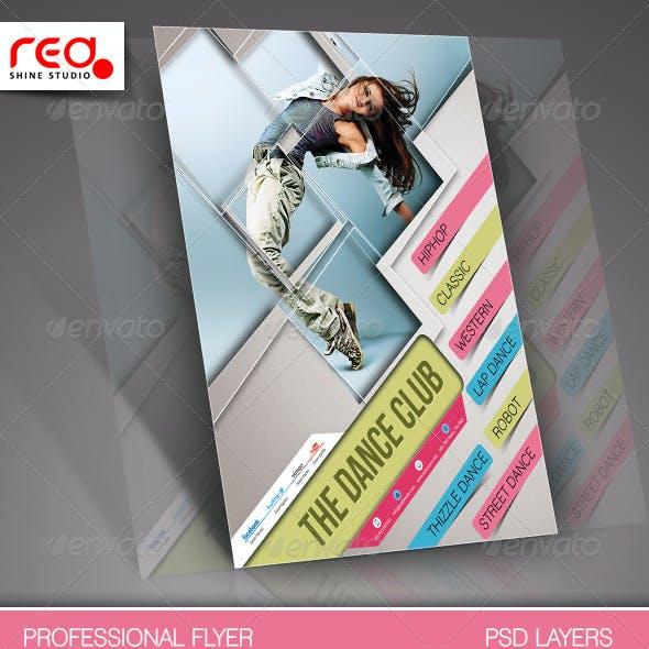 Dance Academy Flyer & Poster Template