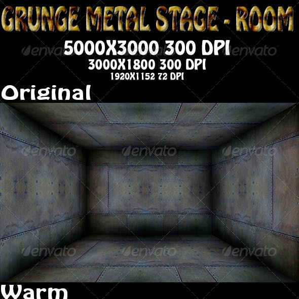 Grunge Metal Stage - Room