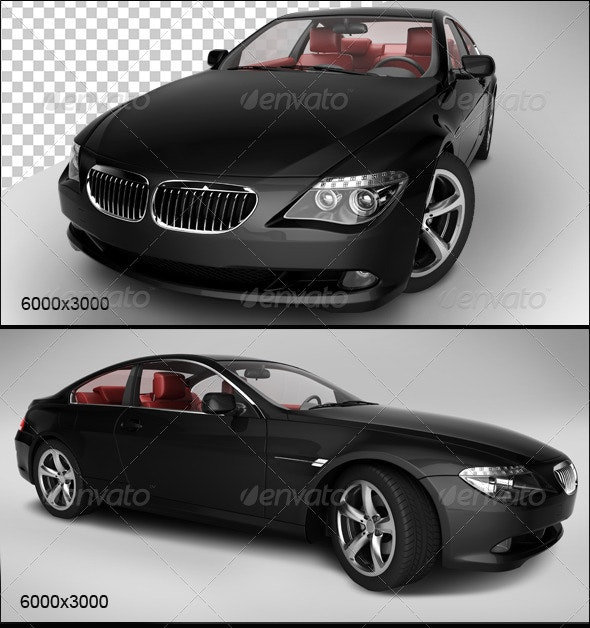 Black Car 2 - 3D Renders Graphics