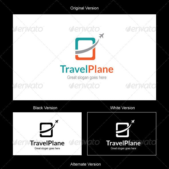 Travel Plane Logo Design