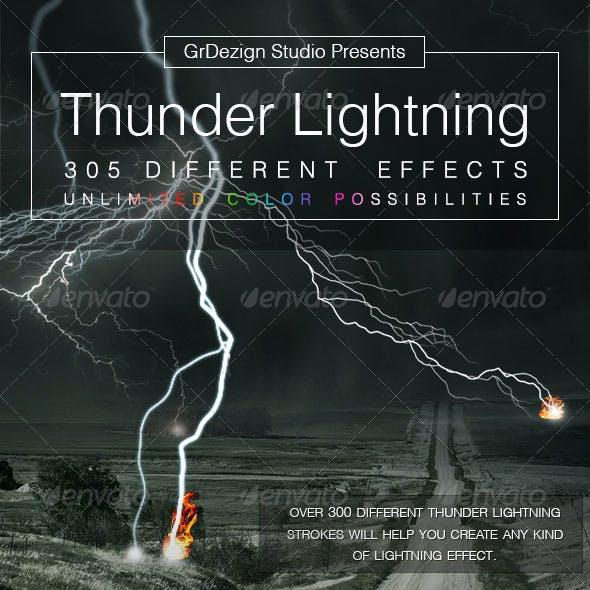 Thunder Lightning Effects