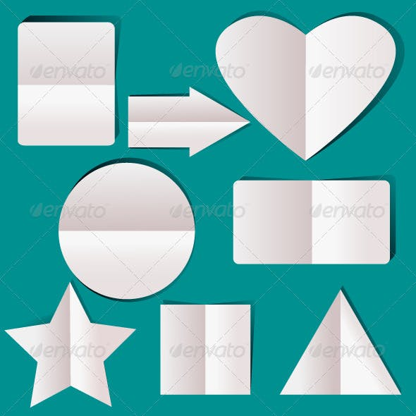Geometric Paper Elements