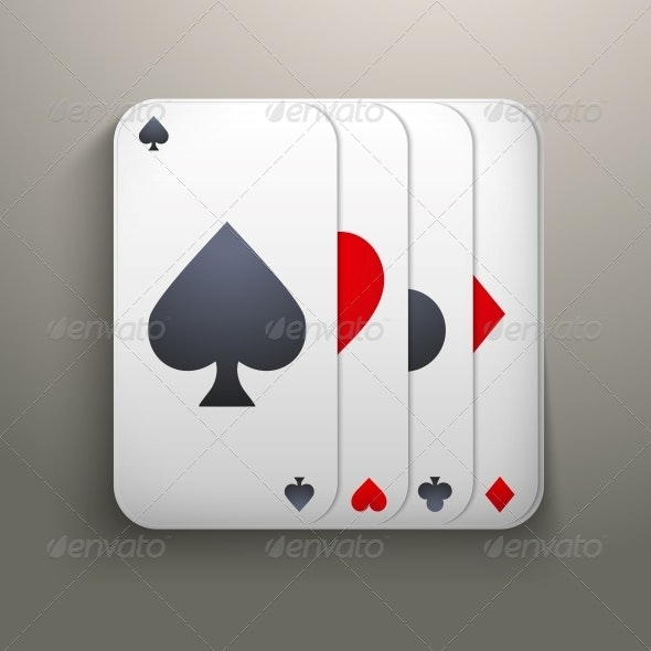 Realistic Deck of Playing Cards for Casino - Concepts Business