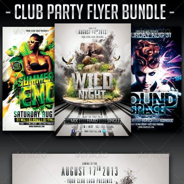 Club Party Flyer Bundle