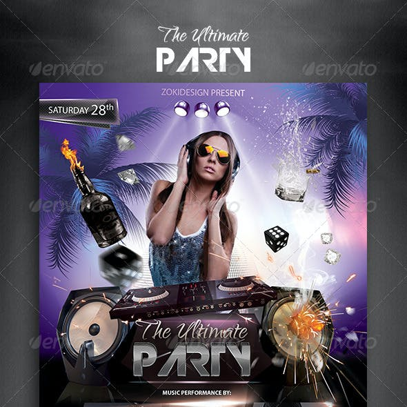 The Ultimate Party Flyer