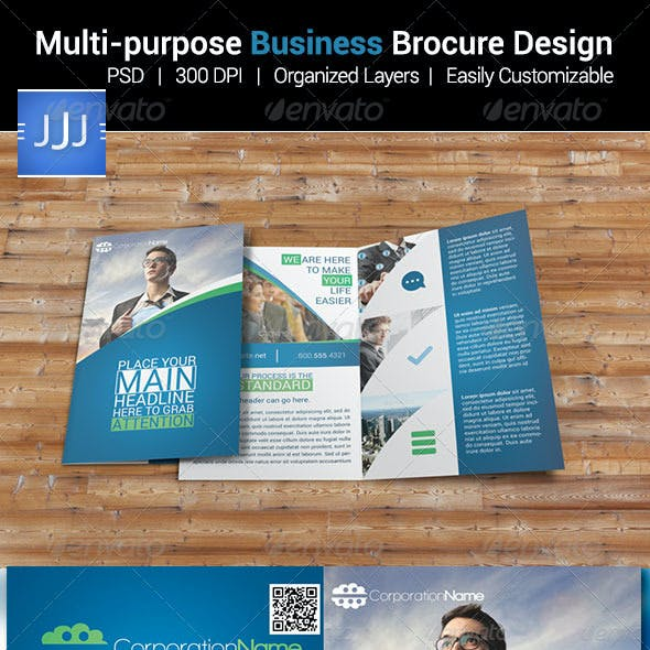 Multipurpose Bifold Business Brochure 6