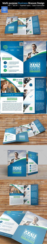 Multipurpose Bifold Business Brochure 6 - Corporate Brochures