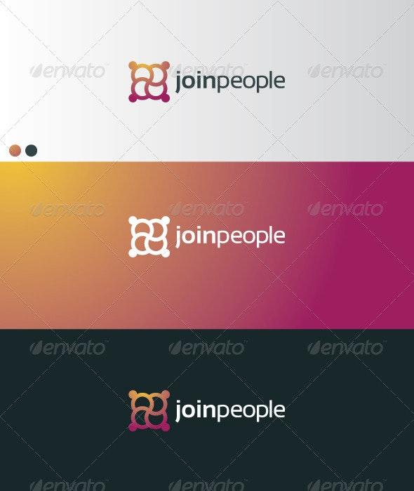 Joinpeople - Symbols Logo Templates