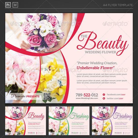 Wedding Flower Supplier Flyer