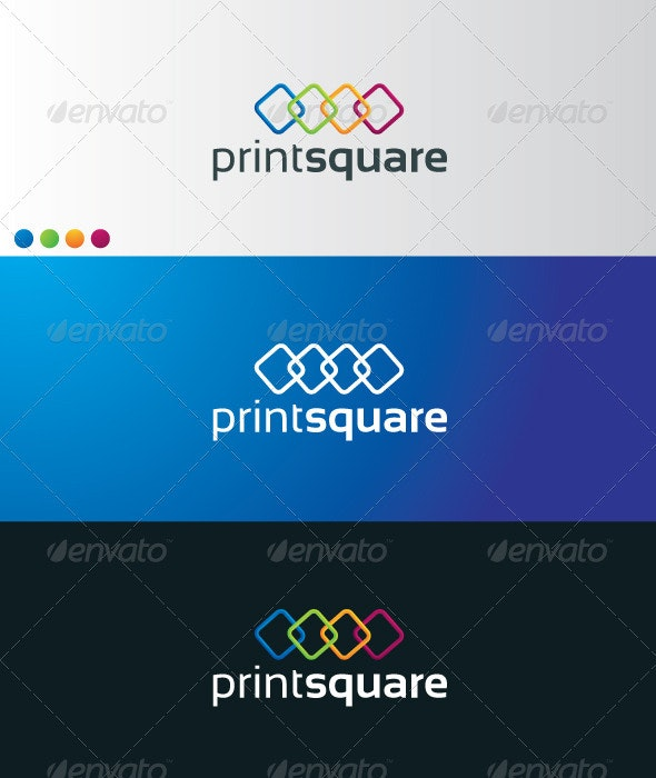 printsquare - Symbols Logo Templates