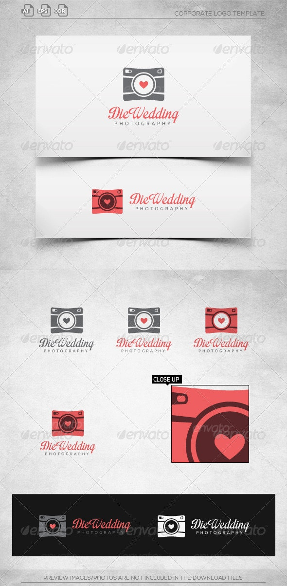 Wedding Photography-Logo Template - Objects Logo Templates